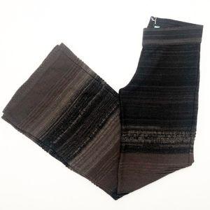 Goddis Huntley Knit Pants in Black Walnut